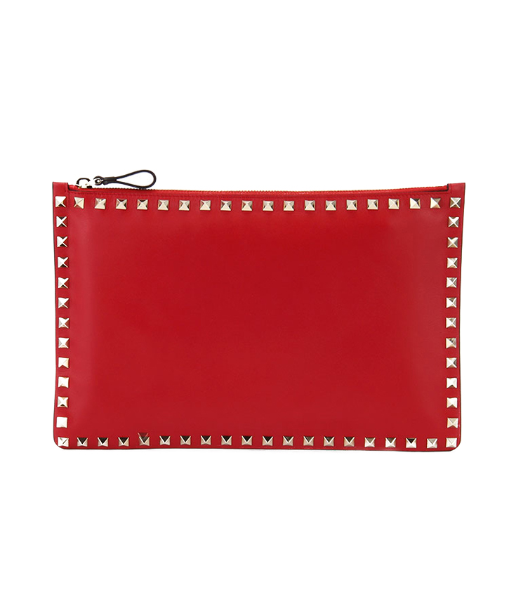 ROCKSTUD LARGE FLAT POUCH【送料無料】